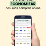 Economize nas suas compras online com cupons de desconto