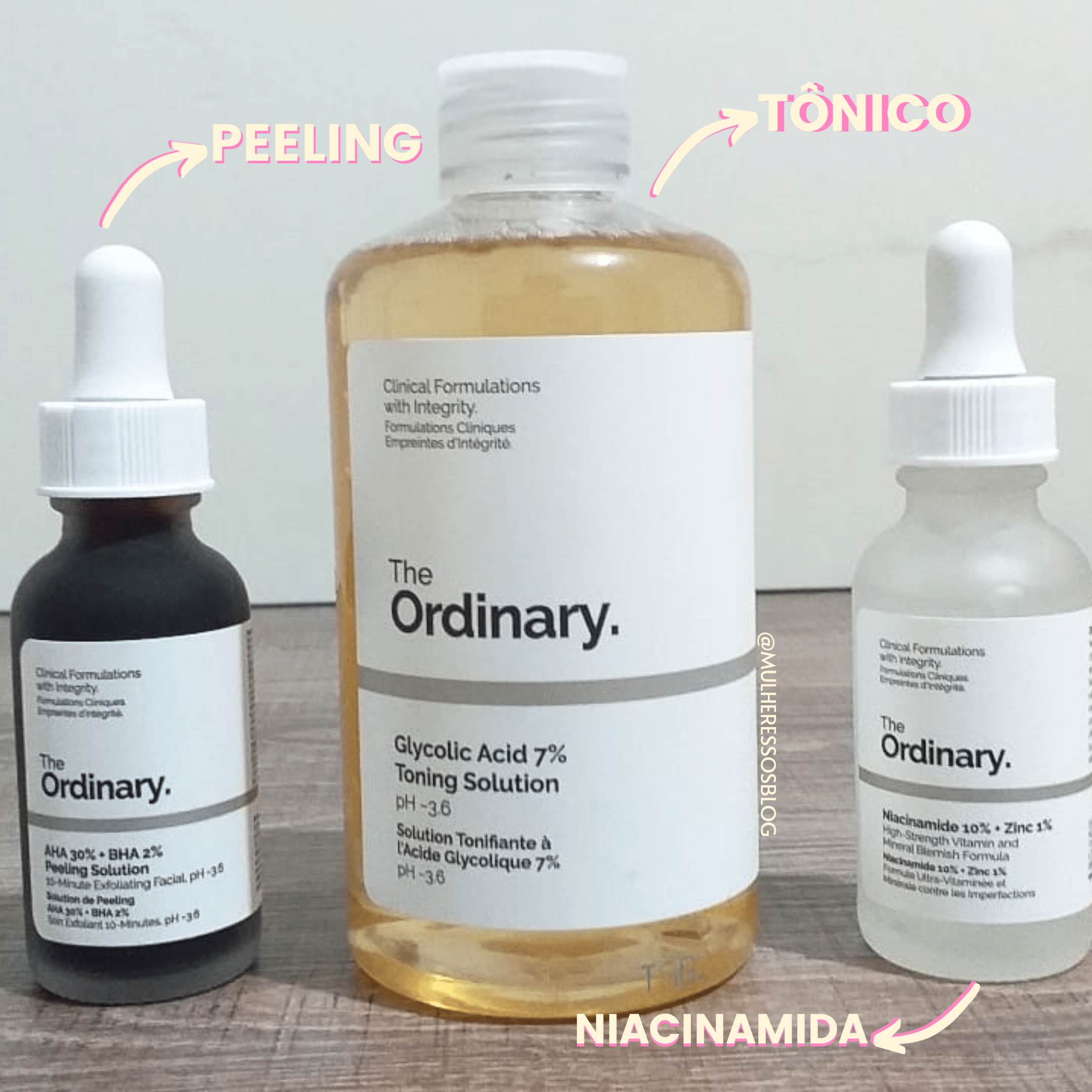PRODUTOS da the ordinary e como usar