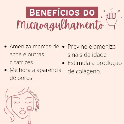 Benefícios do microagulhamento na pele